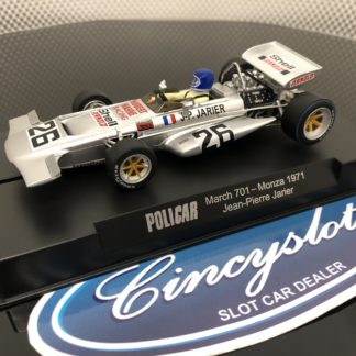 Policar CAR04d March 701 Monza 1971 Jarier 1/32 Slot Car.