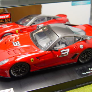 Carrera D124 23756 Ferrari 599XX. Used.  VERY GOOD TO MINT.