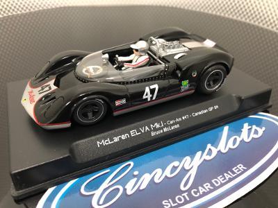 ThunderSlot CA00401SW Bruce McLaren ELVA Mk.I Can Am 1/32 Slot Car.