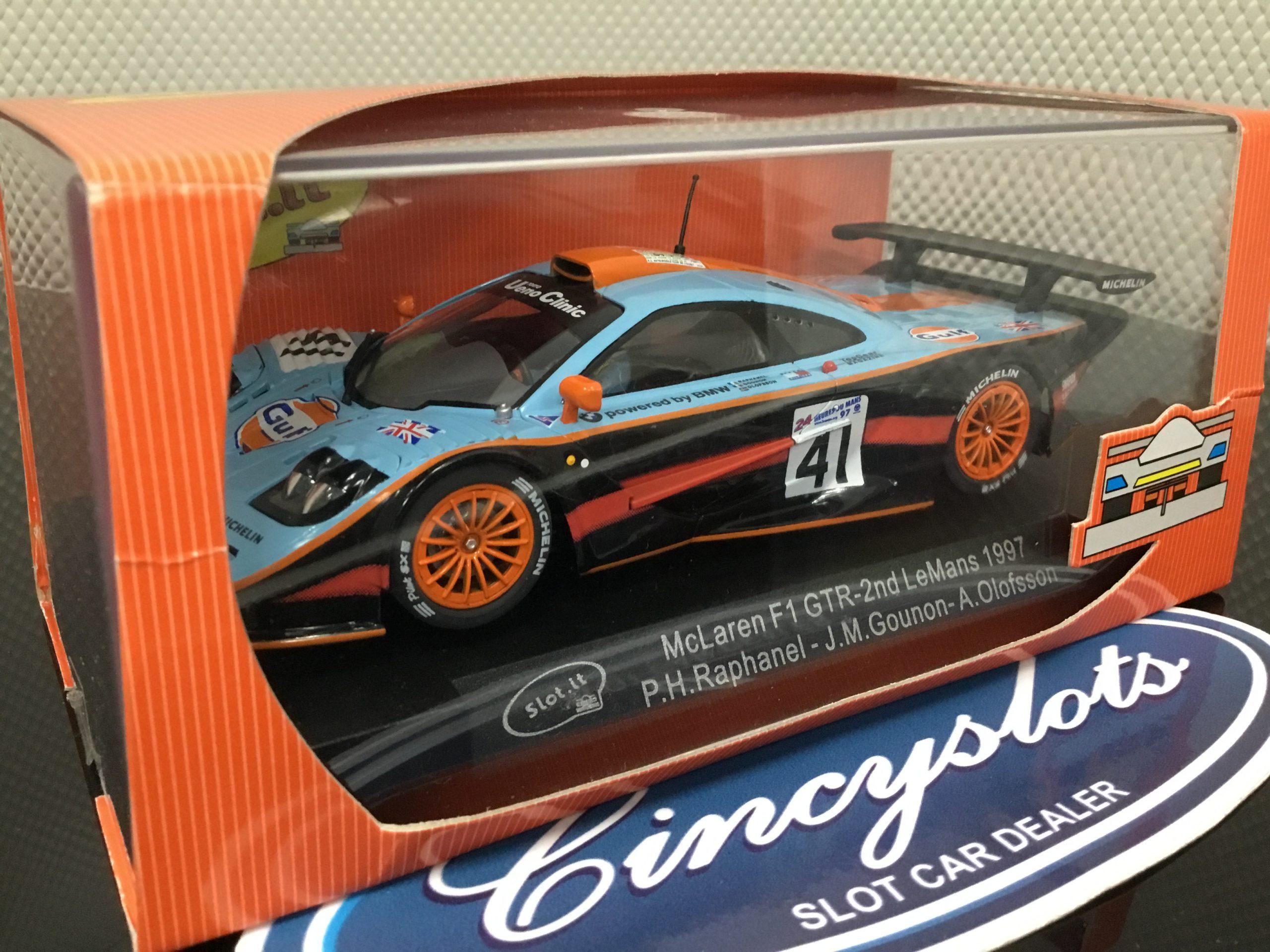 Slot.it Ca10d McLaren F1 GTR LeMans 1997 NEW.