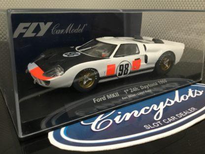 FLY 88247 Ford MKII 1st 24h Daytona 1966 #98 MILES RUBY NEW.