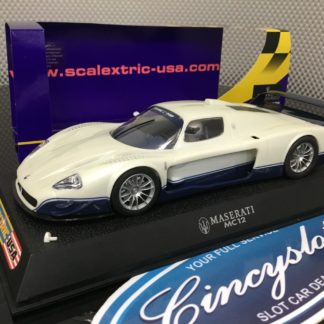 Scalextric C2678 Maserati MC12 Road Car Used.