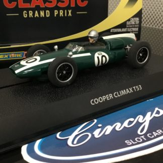 Scalextric C2729 Cooper Climax. Lightly Used.