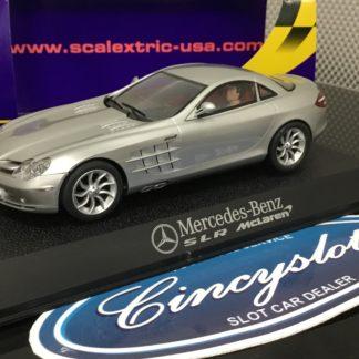 Scalextric C2632 Mercedes Benz SLR McLaren. Lightly Used.
