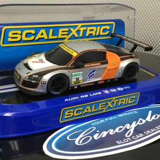 Scalextric C3134 Audi R8 LMS Rossberg. Lightly Used.