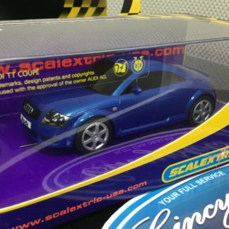 Scalextric C2507 Audi TT Blue Used.