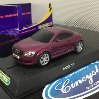 Scalextric C2735 Audi TT Purple Used.