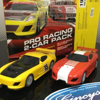 Scalextric C3164 Pro Racing 2 Car Pack Used.