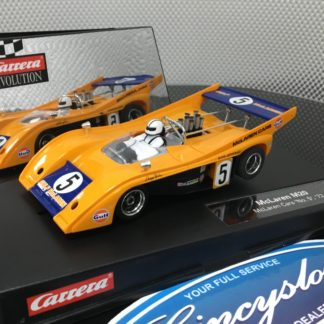 Carrera Evolution 27328 McLaren M20 #5 Lightly Used.