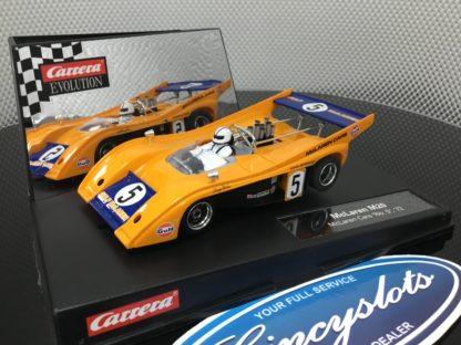 Carrera Evolution 27328 McLaren M20 #5 Lightly Used.