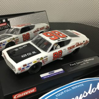 Carrera Evolution 25740 Ford Talladega #98 Lightly Used.