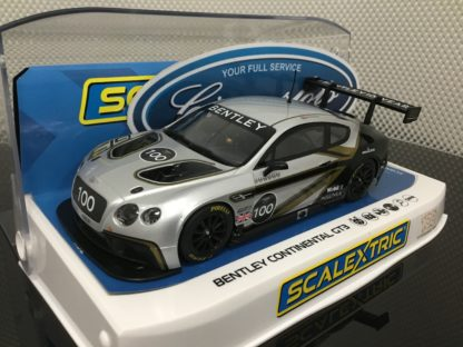 Scalextric C4057A Bentley Contenental GT3 100 Years Limited Edition.