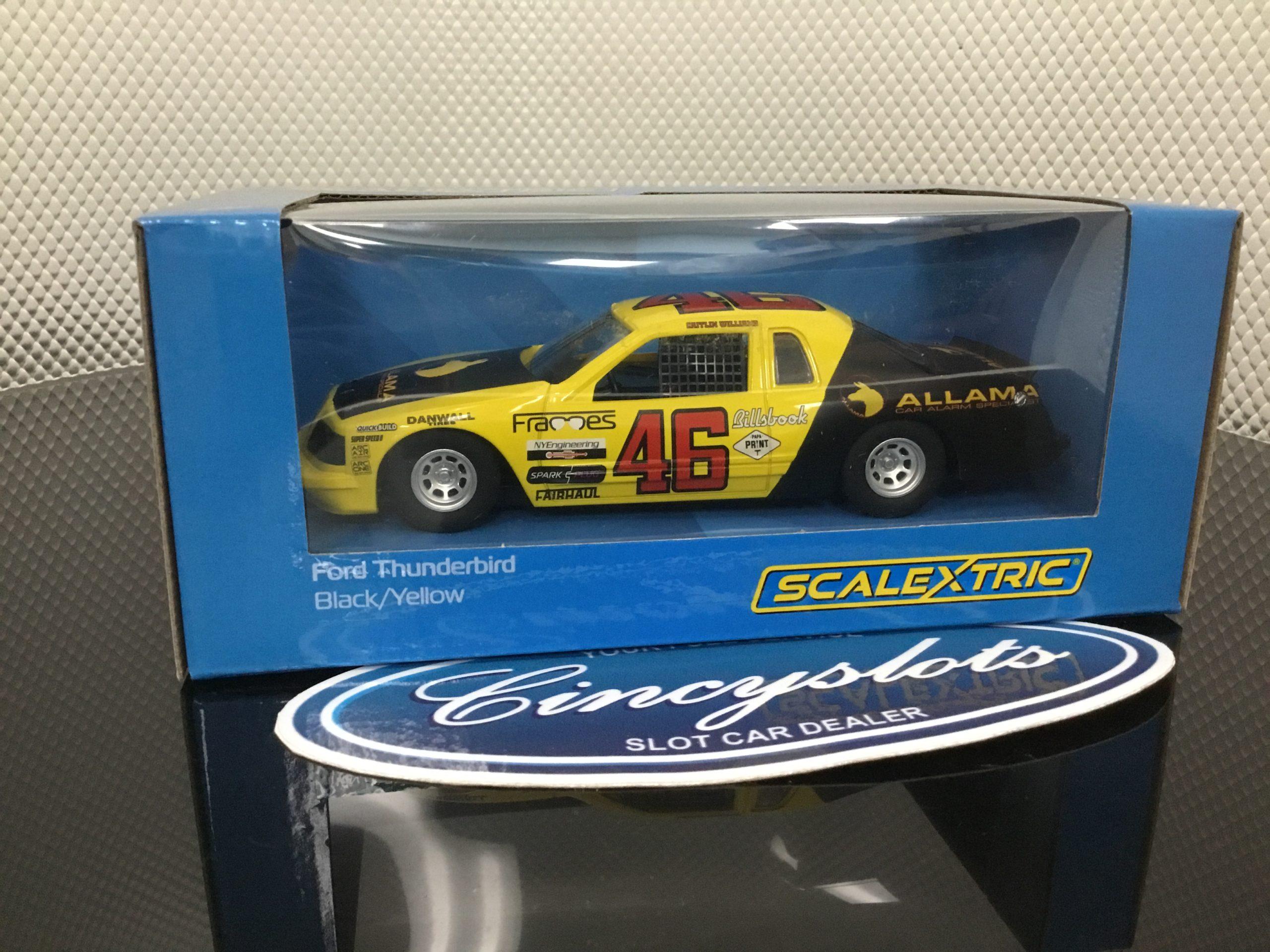 Scalextric C4088 Ford Thunderbird Nascar Allama.