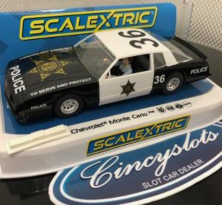 Scalextric C4108 Chevrolet Monte Carlo County Sheriff Special Edition.