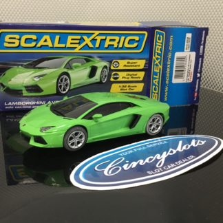 Scalextric C3660 Lamborghini Aventador. Lightly Used.