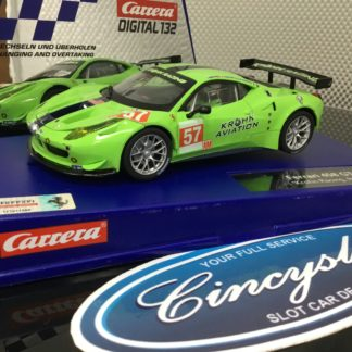 Carrera D132 30678 Ferrari 458 Krohn Racing, Lightly Used.