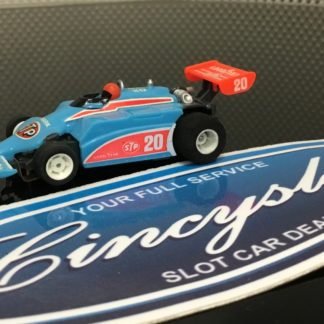 Tyco STP #20 Indy F1 HO SLOT CAR. NEW