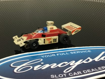 Aurora AFX G-Plus #11 McLaren Indy F1 HO SLOT CAR. USED WORKING