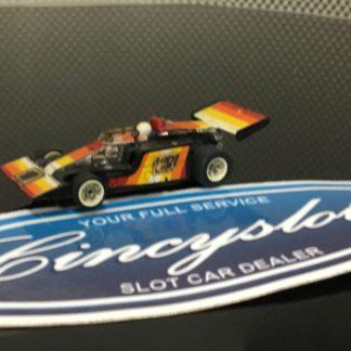Aurora AFX G-Plus #1 Black Indy F1 HO SLOT CAR. USED WORKING