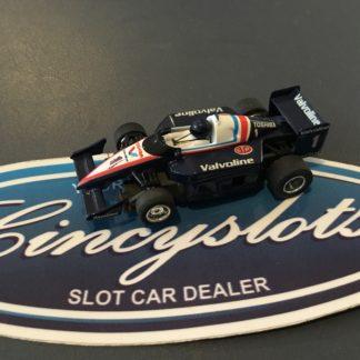 TYCO 440x2 Valvoline Indy F1 HO Slot Car, lightly used.