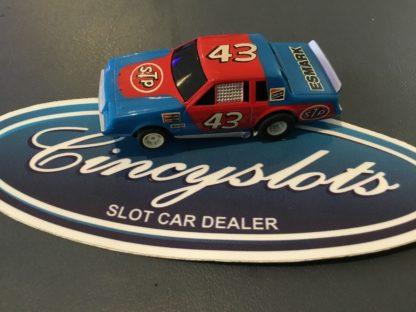 Tyco HO Slot Car Body Nascar # 43 STP ESMARK Richard Petty BUICK REGAL.