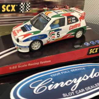 SCX 60070 Toyota Corolla Movistar Lightly Used.