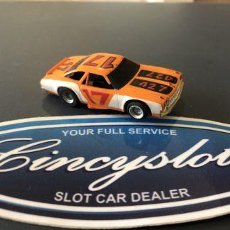 AFX HO Chevelle Stock Car 427 Orange/White, Used.