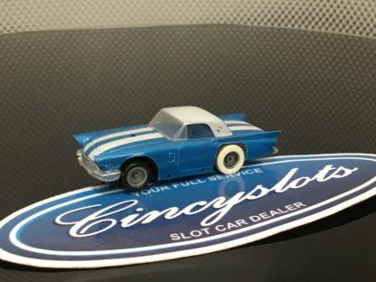 TYCO PRO Ford Thunderbird HO Slot Car Used.