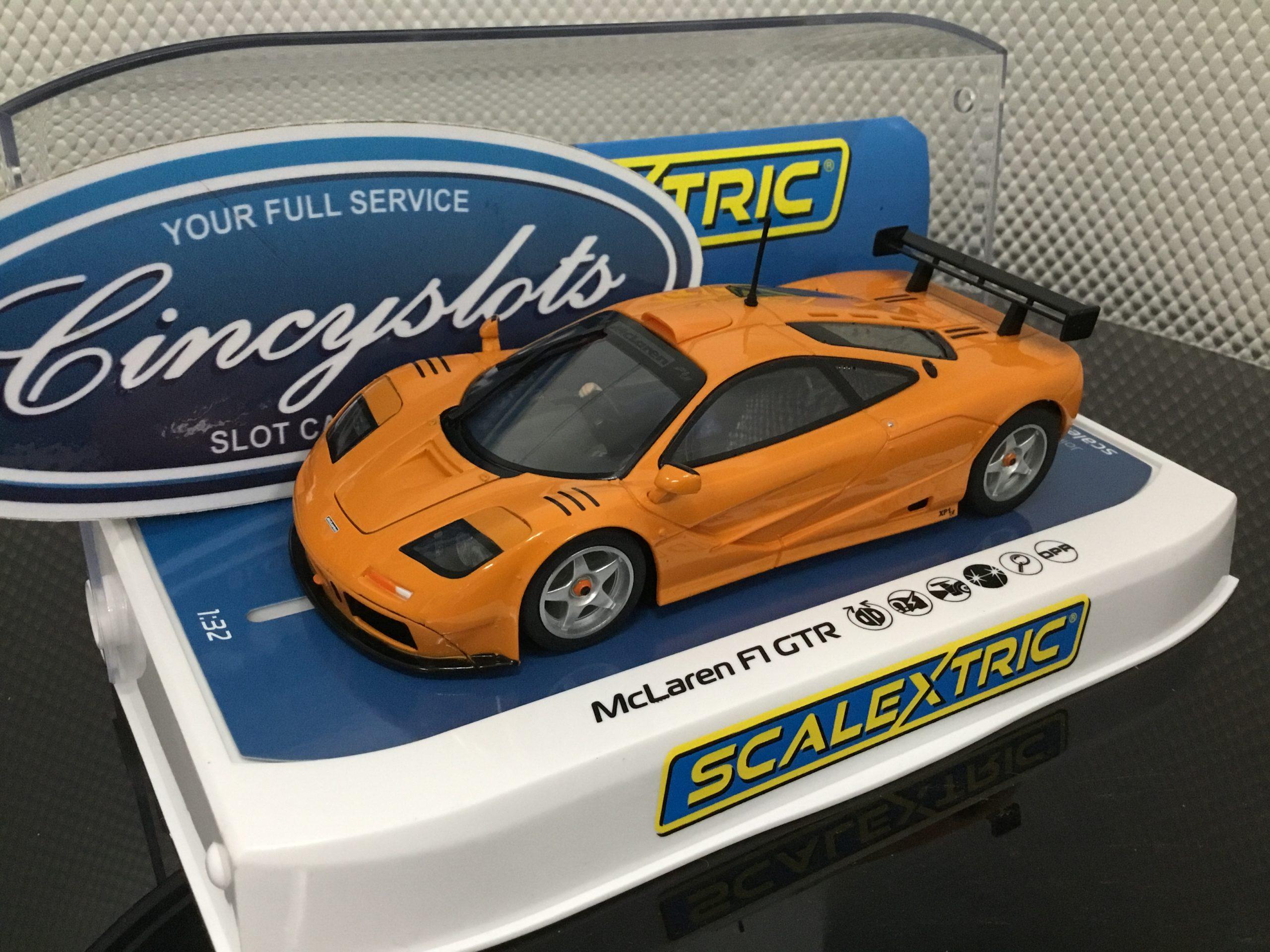 Scalextric C4102 McLaren F1 GTR Papaya Orange 1/32 Slot Car.