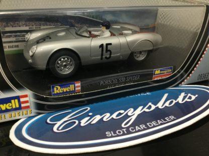 Revell Monogram 8363 Porsche 550 Spyder 1/32 Slot Car.