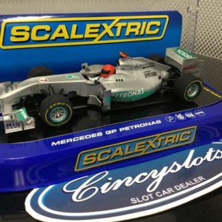 Scalextric C3263 Mercedes Petronas F1 Schumacher #7
