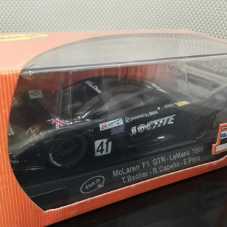 Slot.it CA10c McLaren F1 GTR Loctite 1/32 Slot Car.