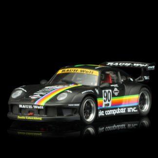 REVOSLOT RS0049 PORSCHE 911 GT2 Apple black #90 1/32 Slot Car.
