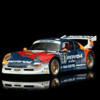 Revoslot RS0051 PORSCHE 911 GT2 Repsol Blue #91 1/32 Slot Car.