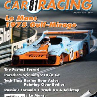 Model Car Racing Magazine 81.