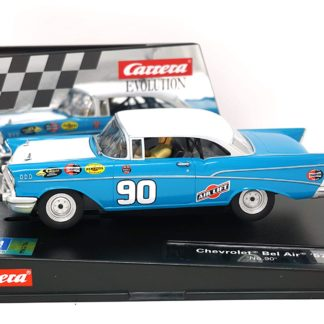 Carrera Evolution 27555 Chevrolet Bel Air 1/32 Slot Car.