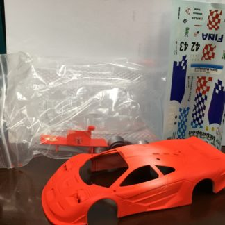 1/32 Top Slot McLaren Resin body, Neon Fina.