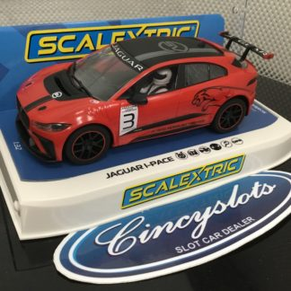 Scalextric C4042 Jaguar I-Pace Etrophy 1/32 Slot Car.