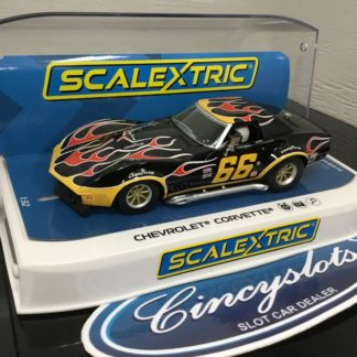 Scalextric C4107 Chevrolet Corvette #66.