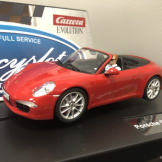 Carrera Evolution 27534 911 Cabriolet Red.