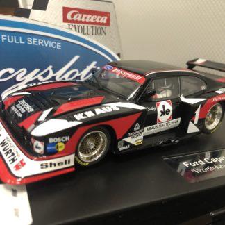 Carrera Evolution 27561 Ford Capri Zakspeed Wurth.