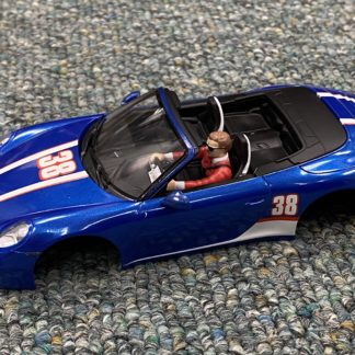 Carrera 1/32 Porsche 911 Body NEW. Blue.