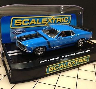 Scalextric C2976 Ford Mustang Boss 302 Grabber Blue.