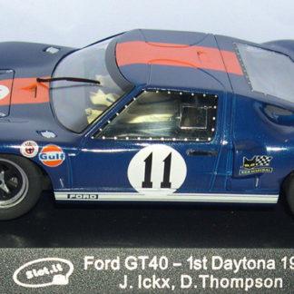 Slot.it CA18d Ford GT40 #11 Daytona.