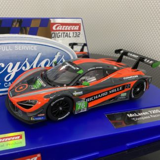 Carrera D132 30893 McLaren 720S GT3 Compass Racing #76.