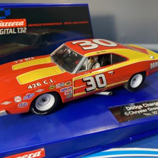Carrera Digital 132 30604 Dodge Charger 500 #30 1972, LIGHTLY USED.