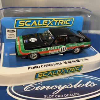 Scalextric C4101 Ford Capri MK3 Brut Castrol.