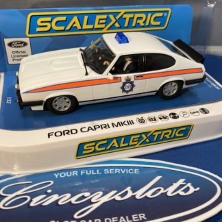 Scalextric C4153 Ford Capri MK3 Manchester Police.
