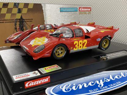 Carrera D124 23899 Ferrari 512S Berlinetta #382.