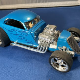 Carrera D124 23700 Hot Rod Blue Coupe Used.